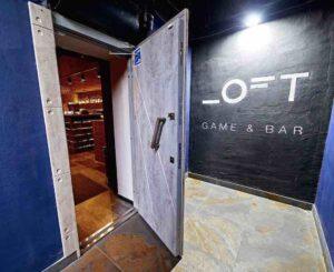 вход игровое пространство лофт гейм бар сечевых стрельцов артема